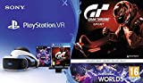 PlayStation VR + Caméra + GT Sport + VR Worlds...