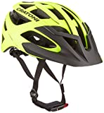 Cratoni C-Hawk Fahrradhelm, Neon Yellow-Black Rubber, M-L für Cratoni C-Hawk Fahrradhelm, Neon Yellow-Black Rubber, M-L