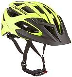 Cratoni C-Hawk Fahrradhelm, Neon Yellow-Black Rubber, M-L