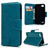 LG Q6 Wallet Case YOKIRIN Lederhülle Schutzhülle für LG Q6 (5.5