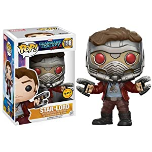 Funko Pop Star-Lord «Chase Edition» (Guardianes de la Galaxia Vol. 2 198) Funko Pop Guardianes de la Galaxia