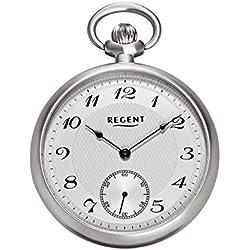 Montre à Gousset Regent–Montre de poche–Mécanique–Argent–petite seconde–p86