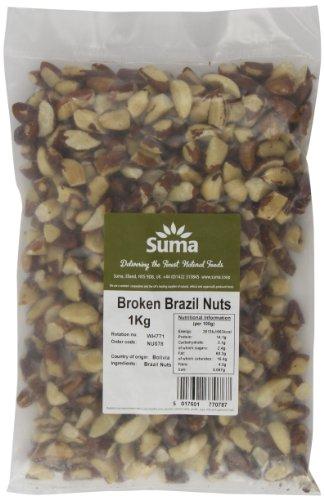 Book's Cover of Suma Broken Brazil Nuts 1 kg