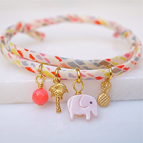 elephant-pineapple-and-palm-tree-liberty-print-bracelet