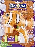 Smiffys Enfant, Pistolet à bulles poisson clown, Orange, avec solution savonneuse, 20580
