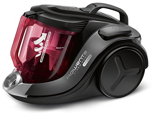 Rowenta RO6963EA X-Trem Power Cyclonic Car Care Bodenstaubsauger, beutellos, 750 W, 2,5 L, hocheffizienter Filter, schwarz/rot