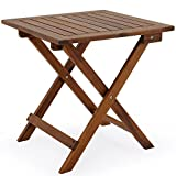 Deuba Acacia Wood Bistro Coffee Table, Brown