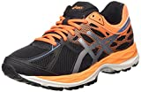 ASICS - Gel-cumulus 17 Gs, Zapatillas de Running Niños-Niñas, Negro (black/methyl Blue/flash Coral 9042), 38 EU