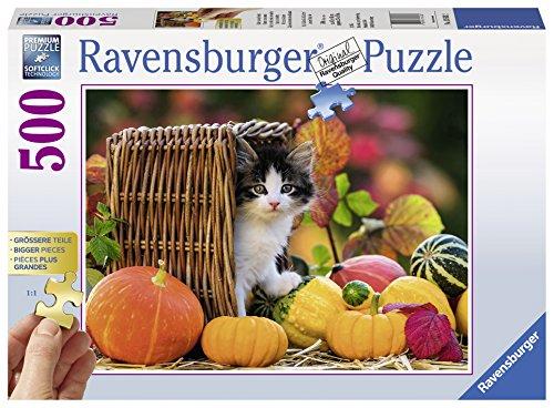 Preisvergleich Produktbild Ravensburger 13603 - Kätzchen im Herbst