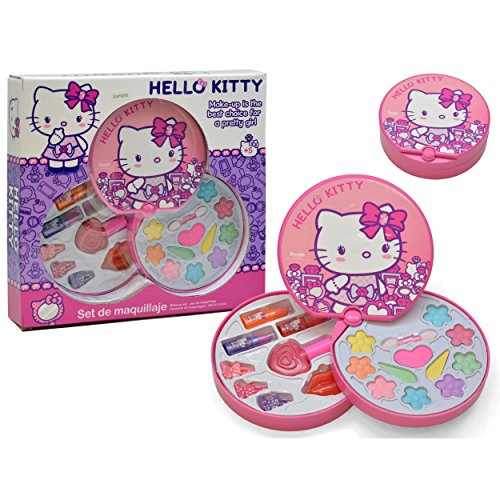Falca Kit Cosmética Circular Hello Kitty M-42861