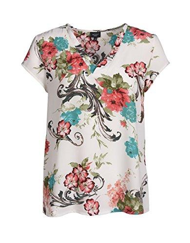 20e7ac32f177 Bexleys by Adler Mode Damen Blumige Shirtbluse - T-Shirt, Bluse, Oberteil,