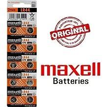 Blister Original De 10x Pilas De Boton Maxell V LR44 A76 RW82 AG13 V13GA LR0044 Envio 48/72H Felixmania®