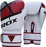 RDX Boxhandschuhe Muay Thai Boxsack Training Sparring Kickboxen Sandsack Maya Hide Leder Boxing Gloves - 2