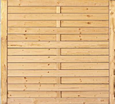 Lamellenzaun Kiefer 1 Stück, 100 x 150 cm von Gartengruen24 auf Du und dein Garten