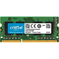 Crucial CT51264BF160BJ 4Go (DDR3L, 1600 MT/s, PC3L-12800, Single Rank, SODIMM, 204-Pin) Mémoire