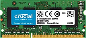 Crucial CT2G3S1339MCEU Memoria per Mac da 2 GB, DDR3L, 1333 MT/s, PC3-10600, SODIMM, 204-Pin