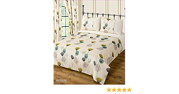 Contemporary Printed Retro Bedding Bed Set Reversible Floral Duvet Cover