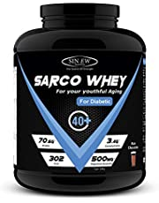 Sinew Nutrition Sarco Whey Protein for Diabetic - 2 kg (Rich Chocolate)