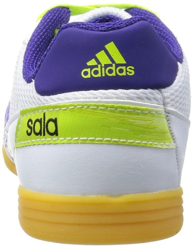Adidas Performance  Freefootball Supers, sports - fitness homme Blanc - Weiß (RUNNING WHITE FTW / COLLEGIATE PURPLE / SOLAR SLIME)