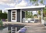 weka Designhaus wekaLine 172 B, Gr.1, anthrazit, 28 mm, ET, Anbau 300 cm