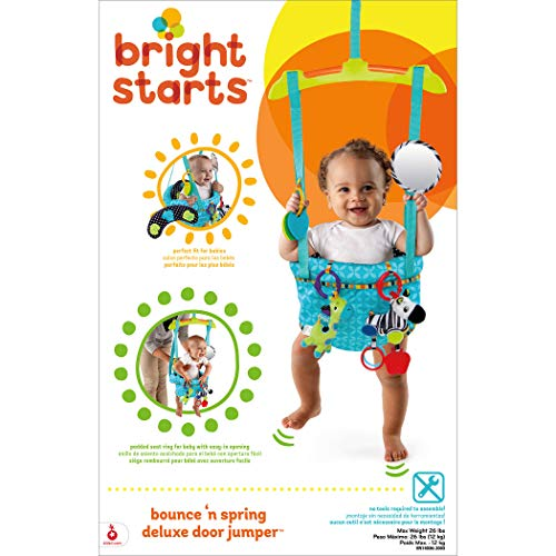 Bright Starts 10410 Bounce and Spring Deluxe Door Jumper - 9