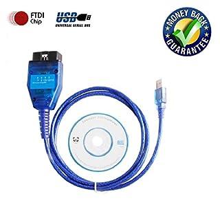 Goldplay KKL 409.1 USB-Kabel, FT232RL, für OBD2-Auto-Diagnose-Gerät, Schnittstellenkabel