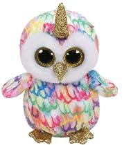 cca0332092b amazon. Ty Beanie Boo - Unicorn Owl - ty36253