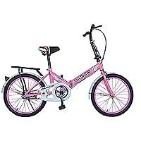 MASLEID Bicicleta plegable / Señora velocidad estudiante del niño / bicicleta de la bicicleta , pink