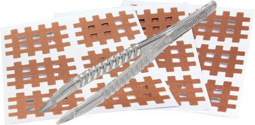 mediAID Crosslings / Spiral-Crosslings (Akupunkturpflaster) Typ-B (120 Stück) Das Original inkl. Pinzette