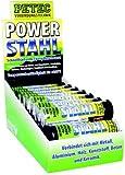Petec 97344 Verkaufsdisplay Power Stahl, 50 g, 20 Stück
