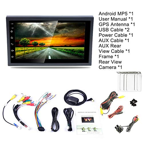 Falliback 7 Zoll 2 DIN Universal Android 8.1 Auto Multimedia WiFi Player Navigator GPS HD Umkehrung Audio und Video Handy Handy Interconnect Lenkradfernbedienung Radio AM/FM MP5 Audio - / Video-interconnect