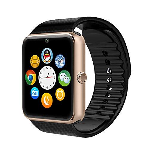 AsiaLONG Sport Smartwatch Bluetooth (Gold)