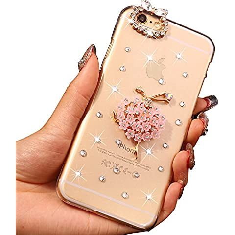 Sunroyal® Ultra Sottile Bling Duro Back Custodia per Apple iphone 6 plus / 6S plus 5.5