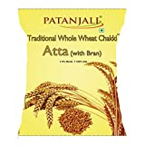 #3: Patanjali Traditional Whole Wheat Chakki Atta with Bran, 10kg