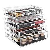 Make-up Organizer, 2 stapelbare Aufbewahrungsboxen