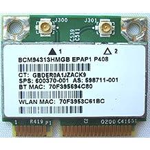 Wifi Wireless Card for Gotor Hp Broadcom Bcm semirrodillo 4313 802 11n. Wifi Wireless N Bluetooth Bcm 94313hmgb 593836-001 Mini Pcie Card