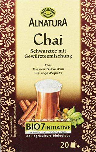 Alnatura Bio Chai Tee, 20 Beutel, 40 g