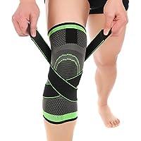 Surenhap Kniebandage Kompression, Knie-Unterstützung Knieschoner mit verstellbarem Gurt für Schmerzlinderung,... preisvergleich bei billige-tabletten.eu