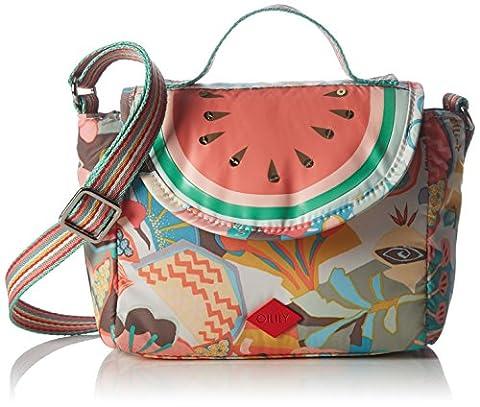 Oilily Oilily S Shoulder Bag OES6197-020 Damen Schultertaschen 17x14x10 cm (B x H x T), Beige (Pastel (Oilily Kindertasche)