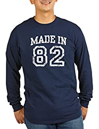 CafePress - Made In 82 - Unisex Cotton Long Sleeve T-Shirt