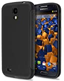 mumbi double GRIP Hülle für Samsung Galaxy S4 Schutzhülle schwarz