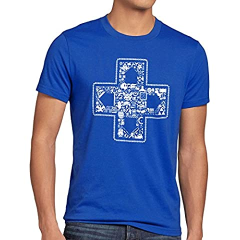 style3 PLAY Camiseta para hombre T-Shirt gamer game videojuego