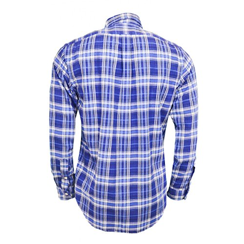 Ralph Lauren Herren Freizeit-Hemd Blau - Blau