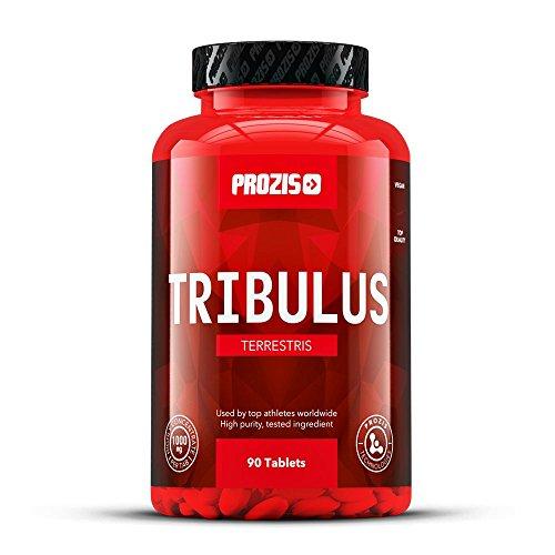 Prozis Tribulus Terrestris, Booster de Testostérone 1000 mg x 90c - Source d'énergie naturelle -...