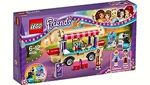 Lego - 41129 - LEGO Friends - Il furgone degli hot dog del parco divertimenti