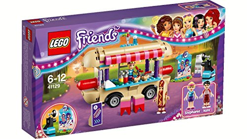 Lego - 41129 - LEGO Friends - Il furgone degli hot dog del parco divertimenti
