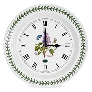Portmeirion Botanic Garden Horloge murale Lilas