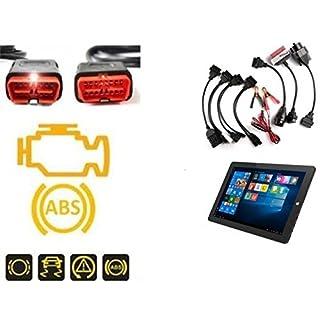 Multi Diagnosegerät OBD2 Tiefendiagnose alle PKW mit Adaptersatz Bluetooth inkl. 8