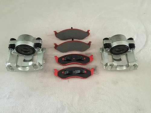 LPB NTY 2 x pinza freno anteriore e pastiglie freno CERAMIC Grand Cherokee ZJ 1993-1998 / Cherokee XJ 1990-2001