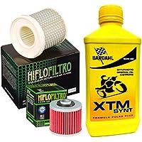 Kit Tagliando Bardahl XTM synt 20W50Filtro Aceite Aire Yamaha XV 535Virago/S